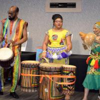 Drum group presentation