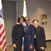 Mayor with Delta Host