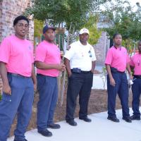 Fire Department goes Pink