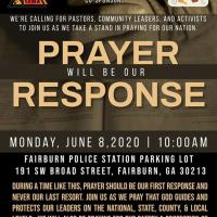 Prayer will be our Reponse