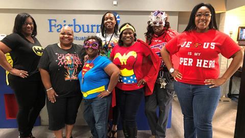 Superhero Monday! Administration Spirit.